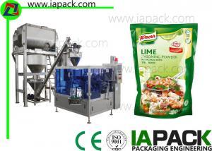 China Seasoning Powder Packaging Machine , Auger Type Powder Filling Machine on sale