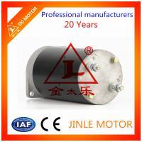 Custom 80mm 800w 24v Direct Drive DC Motors / Electrical Hydraulic Motor