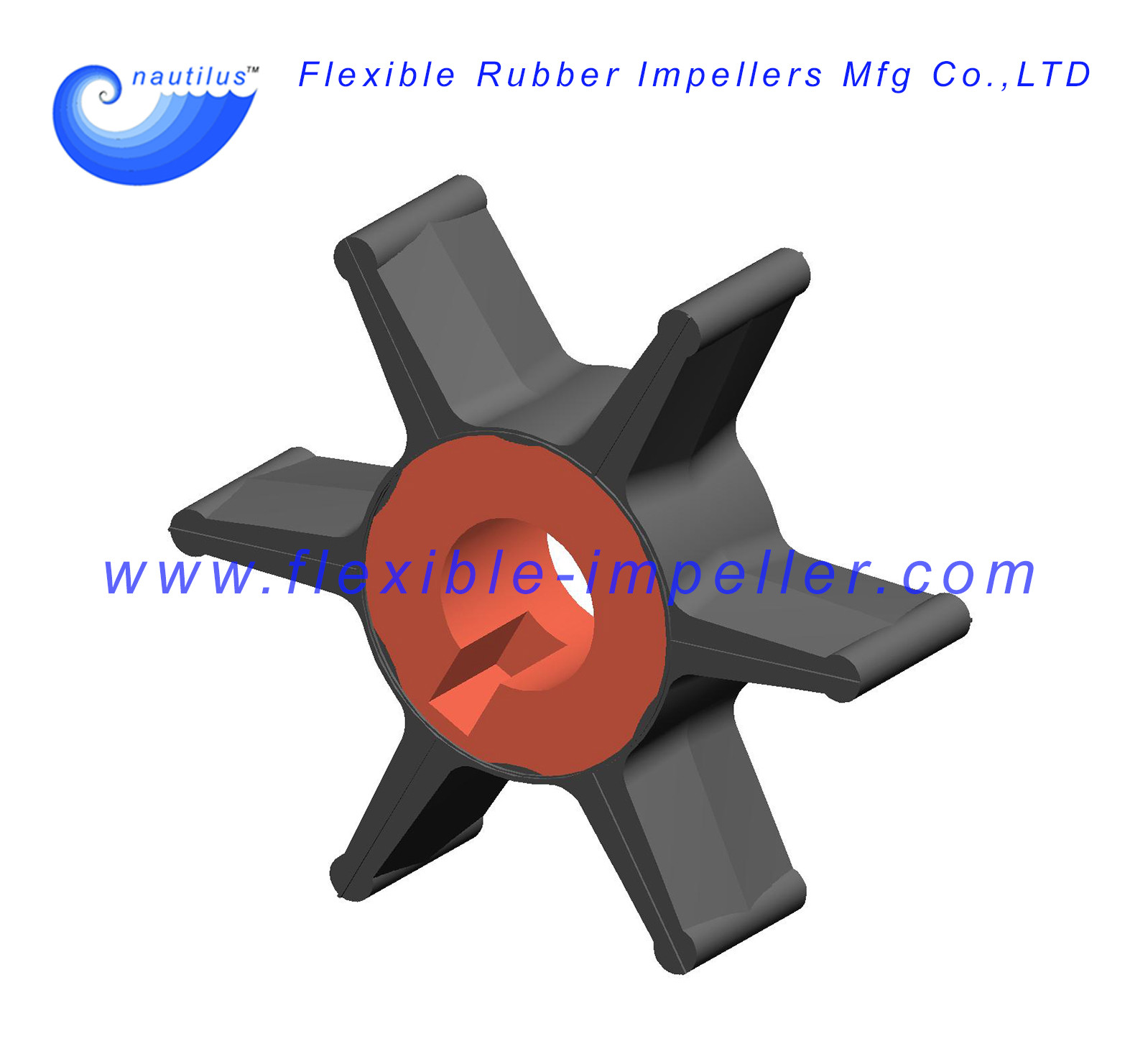 Chrysler/Force Outboard water pump Impeller 47-F436065-2