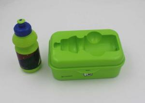 China PP Plastic Lunch Boxes For Kids With Sport Water Bottle / BPA Free Lunch Containers on sale