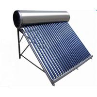 China Evacuated tube collector solar water heater on sale