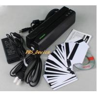 Wholesales high 3TrackS MSR605 Magnetic Stripe Card Reader Writer Swipe Credit & Debit Card MSRE606 with 20 blank Cards
