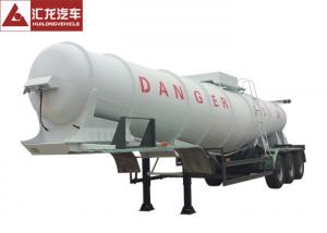 China 98% Sulfuric Acid Chemical Tank Trailer 21000L 11800x2500x3000mm Special Design V Beam on sale