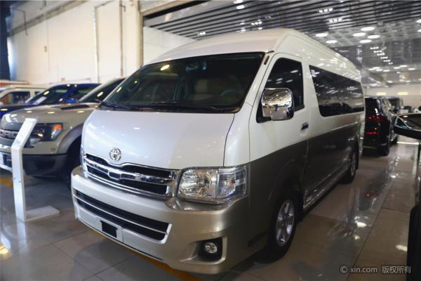 Japan Toyota Hiace Bus 12 Setas Diesel Bus Left Hand Drive