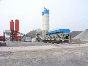 China WBS300/WBS500 Soil base mixing plant/batching plant on sale
