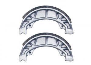 China Honda C70 Motorcycle Brake Shoe Casting Manufacturing Process , No Impurity on sale