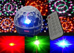 China Remote Dmx Led Mirror Disco Ball Party Light , Magic Led Light High Brightness on sale