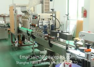 China 2 / 4 / 6 Filling Nozzle Essential Oil Filling Machine 5 - 60ml High Accuracy on sale