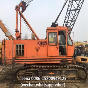 China Used Hitachi Crawler Crane / Used Lattice Boom Crawler Crane Kh125-3 Made In Japan on sale