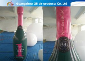 China Good Quality OEM PVC Inflatable Champagne Bottle For Advertising on sale