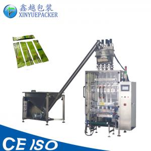 China 4 Lanes 6 Lanes Automatic Powder Packing Machine , Customized Grain Packing Machine on sale
