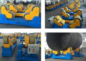 China self adjustment HGZ welding rotator double head turning rolls heavy load on sale