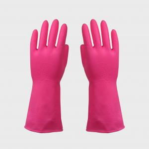 China Garden Insulated Pvc Safety Gloves , Heat Resistant Vinyl Household Gloves on sale