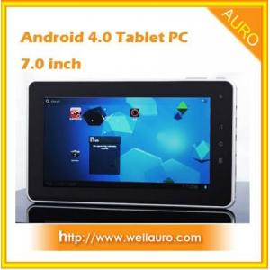 China Android 4.0 7.0 inch Capacitive Touch Screen Tablet PC with Camera on sale
