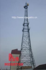 China Taper lattice square telecom tower on sale