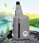 Newest  shoulder bag casual joker diagonal canvas bag men's polyester chest outdoor polyester bag