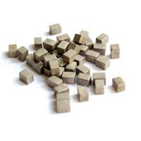 Tungsten Alloy Cube 18.5g/Cc Density Hyper Velocity Armor Penetrating Use