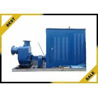 Large 56kw High Volume Diesel Engine Water Pump Eletrical Starting Method