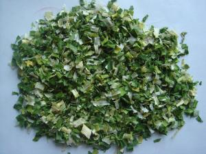 China Natural Food Grade Dehydrated Chive Flakes 5*5mm AD Chive Flakes ISO / FDA on sale