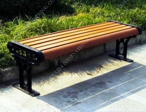 China wood park leisure bench OLDA-8021 150*48*44CM on sale