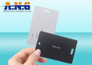 China Friendly Business Custom Printed Cards UV coating with a hole on sale