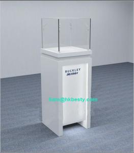 China Fashion Jewelry Display Tower Showcase with LED Downlights on sale