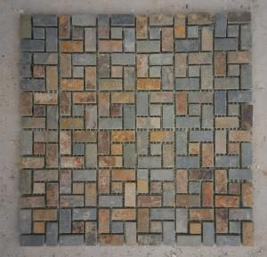 China Stone mosaic floor or wall tiles on sale