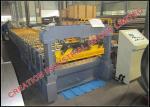 O período longo de alumínio corrugou a folha que faz a máquina 900-1200 medidores/hora