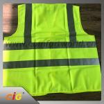 Manteau réfléchissant de sécurité d'hiver de chaussée pour la sécurité personnelle imperméable et protégeant du vent