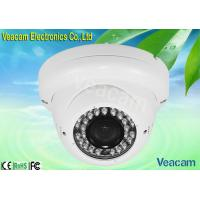4-9mm Manual Zoom Lens , 540TV Lines LED Vandal Proof Dome Camera, 30M IR Working Distance