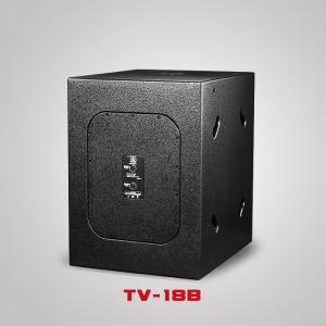China Touring Sound System Single 18inch Big Bass Speaker DISCO Subwoofer Audio sound system  TV-18B on sale