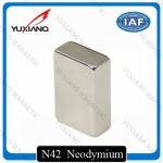 Coating Nickel N45 Neodymium Magnets Rectangular 20x10x40mm Rare Earth Magnet