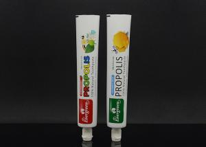 China Custom laminated aluminum tube packaging empty toothpaste tubes on sale