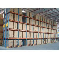 China Customize Metal Heavy Duty Storage Racks Timber Pipe ISO9001 / AS4084 Approval on sale