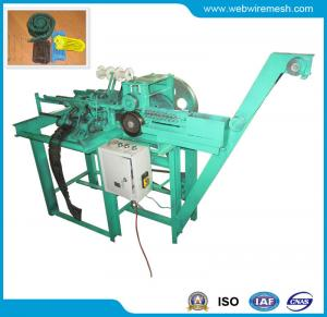 China Automatic Double Loop Wire Ties Making Machine on sale