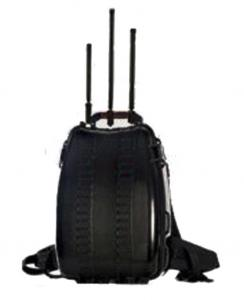 China Manpack Type Portable Cell Phone Jammer 2G / 3G / 4G With High Capacity Battery on sale