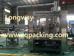 China Automatic drinking water filling production line on sale