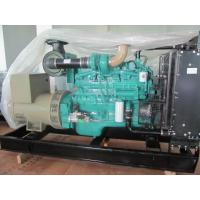 China OEM 150kva Cummins Diesel Generator Water Cooled  Generator With Multi - Cylinder , 24V DC on sale