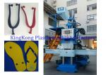 2 Stations Plastic PVC Sole Making Machine , Vertical Strap / Upper Injection Molding Machine