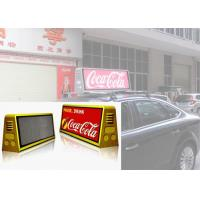 China P5 Waterproof Outdoor LED Display Moving Advertising Taxi Top Screen on sale