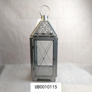 China contemporary metal candle holder lantern glass candle holder wall hanging display for hotel decoration on sale