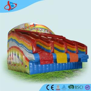 China Red Rentals Big Inflatable Water Slides Rentals For Kids Open Air on sale