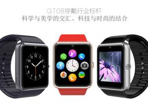 China Android Apple Smart Wrist Watch / Bluetooth 4.0 Smart Wrist Wrap Phone Watches on sale
