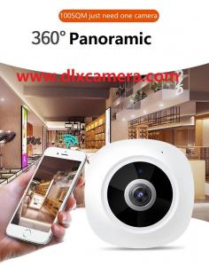 China Wholesale Smart home baby monitor 3Mp 360° plug and play Max.128G SD 3D Panoramic VR P2P Wireless and wired both support on sale