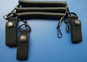 China 3.0 mm Tool Safety  Lanyards Adjustable Tactical Pistol Hand Gun Secure on sale