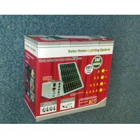 High Efficiency Solar Home Lighting System , Solar Power House System 20 W