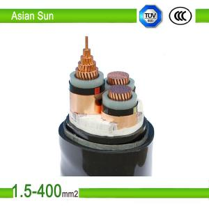 China (ACSR) Aluminum Conductors Steel Reinforced 2 core electrical power cable on sale