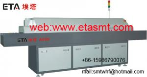 China SMT Full Hot Air Lead-Free Reflow Oven With 8 Heating-Zones/ Hot Air Reflow Oven (ETA-E8) on sale