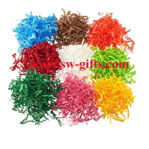 China Luxury Hamper Shred - Extra Soft Shredded Tissue Paper - Hamper Gift Packaging on sale