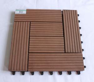 China Garden interlocking wpc diy tile 30*30cm on sale